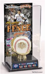 Hunter Pence San Francisco Giants 2012 World Series Champions Baseball Display Case with Gold Glove & Plate