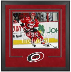 "Carolina Hurricanes Deluxe 16"" x 20"" Horizontal Photograph Frame - Mounted Memories"