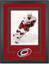 "Carolina Hurricanes Deluxe 16"" x 20"" Vertical Photograph Frame - Mounted Memories"
