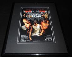 Hustle & Flow Framed 11x14 Poster Display Terrence Howard Taraji P Henson