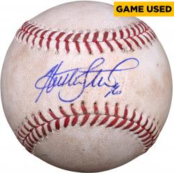 Huston Street San Diego Padres Autographed Game-Used Baseball