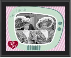I LOVE LUCY (A WONDERFUL PAIR) SUBLIMATED Photo PLAQ (10x13 BOARD)