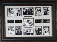 I Love Lucy Show Replica Autographed Framed Display
