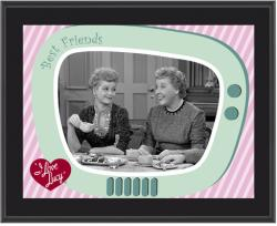 I Love Lucy - Having Tea - Sublimated 10x13 Plaque