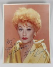 I Love Lucy – Lucille Ball Signed & Inscribed 8×10 Photo – JSA Full LOA