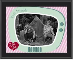 I Love Lucy - The Camping Trip - Sublimated 10x13 Plaque
