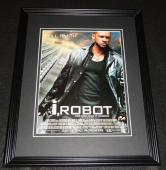 I, Robot 2004 Framed 11x14 ORIGINAL Vintage Advertisement Will Smith