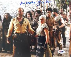 Iain Glen Signed Game Of Thrones 8x10 Photo Authentic Autograph PSA/DNA #AB99171