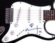 Ian Astbury Autographed Signed The Cult Guitar UACC RD COA AFTAL