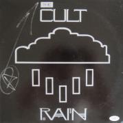 "Ian Astbury The Cult Signed RAIN 12"" Vinyl LP JSA"