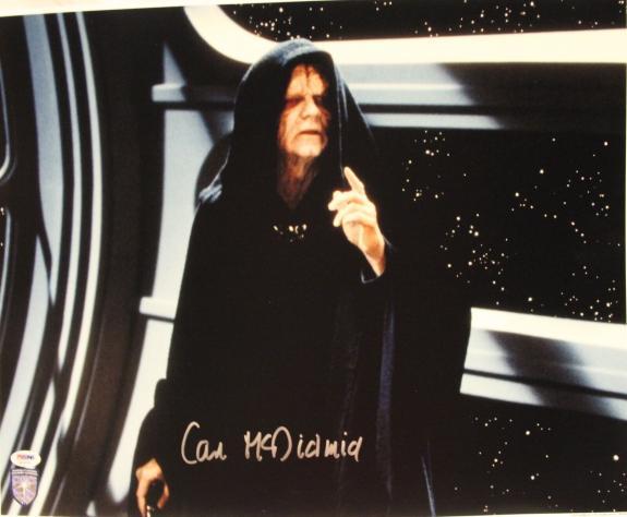 "IAN McDIARMID Signed STAR WARS ""Emperor"" 16x20 Photo Official Pix PSA/DNA A34199"