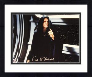 "IAN McDIARMID Signed STAR WARS ""Emperor"" 16x20 Photo Official Pix PSA/DNA A34201"