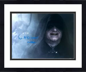 "IAN McDIARMID Signed STAR WARS ""Emperor Palpatine"" 16x20 Photo BECKETT #C83523"