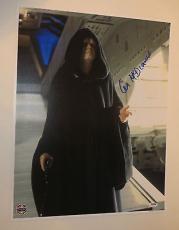 IAN MCDIARMID Signed STAR WARS RETURN OF THE JEDI Palpatine 16x20 PHOTO Psa Dna