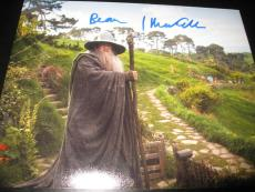 IAN MCKELLEN SIGNED AUTOGRAPH 8x10 PHOTO THE HOBBIT LORD OF THE RINGS COA X3