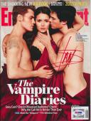 Ian Somerhalder Signed Entertainment Weekly Magazine #3 Vampire Diaries Psa/dna