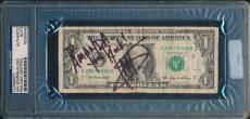 Ian Somerhalder Signed One Dollar Bill Psa/dna The Vampire Diaries To Amanda
