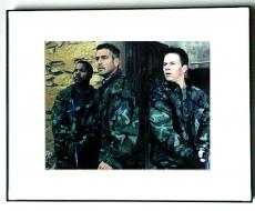 Ice Cube Autographed George Clooney+ Signed Photo PSA/DNA   AFTA AFTAL