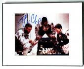Ice Cube Autographed M Damon,G Clooney Signed Photo PSA/DNA AFTA AFTAL
