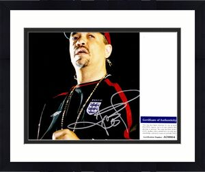 Ice-T Ice T Signed - Autographed Rapper - Actor 8x10 inch Photo - Law & Order SVU with PSA/DNA Certificate of Authenticity (COA)