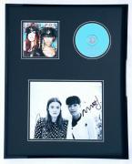 Icona Pop Signed Framed 16x20 Photo & CD Display Caroline Hjelt Aino Jawo B
