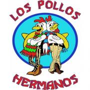 Iconic Los Pollos Hermanos Full Size 16x16 Breaking Bad Poster Photo