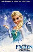 "Idena Menzel Autographed 12"" x 18"" White Movie Poster - PSA/DNA"