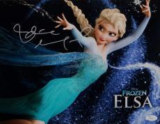 Idina Menzel Autographed Queen Elsa 11x14 Frozen Photo- JSA Authenticated