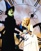 Idina Menzel Kristin Chenoweth Signed 8x10 Photo Wicked Authentic Autograph Coa