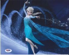 Idina Menzel Let It Go Frozen Elsa Signed Autographed 8x10 Photo Psa/dna Coa #2