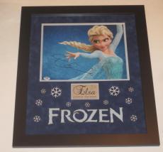 Idina Menzel Signed 11x14 Photo Frozen Elsa Professionally Framed Autograph Psa