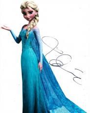 Idina Menzel Signed 8x10 Photo Frozen Elsa Disney Authentic Autograph Coa A