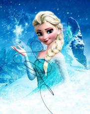 Idina Menzel Signed 8x10 Photo Frozen Elsa Disney Authentic Autograph Coa C
