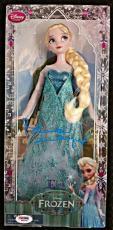 IDINA MENZEL signed Disney FROZEN Classic Doll Collection w/ PSA/DNA Auto Elsa