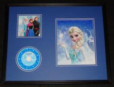 Idina Menzel Signed Framed 16x20 Frozen CD Soundtrack & Photo Display AW Elsa G