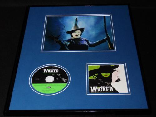 Idina Menzel Signed Framed 16x20 Wicked CD & Photo Display AW