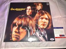 Iggy Pop Hand Signed The Stooges Album Vinyl  PSA/DNA