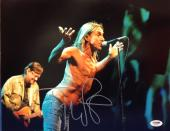 Iggy Pop Signed 11x14 photo PSA/DNA Cert# AA47597