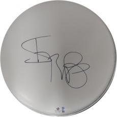 "Iggy Pop Signed Autographed 10"" Drum Head Rock Legend Superstar GA774651"