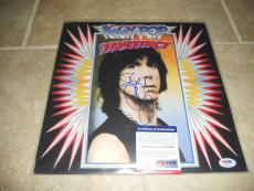 Iggy Pop Signed Autographed Promo Lp Photo Flat 12x12 PSA Certified