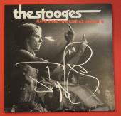 Iggy Pop Signed Autographed The Stooges Have Some Fun Live At Uncano's Record Lp