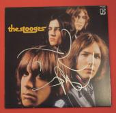 Iggy Pop Signed Autographed The Stooges Self Titled 1969 Record Album Lp