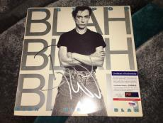 Iggy Pop Signed Blah Blah Blah Vinyl Album Iggy and the Stooges PSA/DNA
