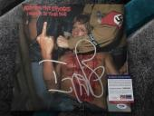 Iggy Pop Signed I Wanna be Your Dog Album Cover EP Vinyl Iggy and the Stooge PSA