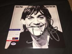 Iggy Pop Signed Lust For Life Vinyl Album Iggy and the Stooges PSA/DNA