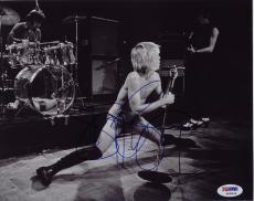 Iggy Pop Signed Stooges 8x10 Photo Autograph Psa/dna