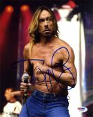 Iggy Pop Stooges Autographed Signed 8x10 Photo Certified Authentic PSA/DNA AFTAL