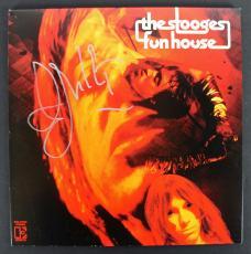 Iggy Pop The Stooges Signed 'Funhouse' Album Cover W/ Vinyl PSA/DNA #AB81101