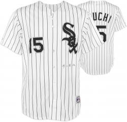 Tadahito Iguchi Chicago White Sox Autographed White Replica Jersey - Japanese Signature