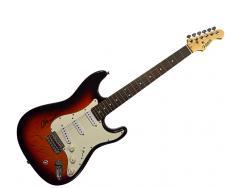 Ike & Tina Turner Signed Sunburst Fullerton Guitar AFTAL UACC RD COA
